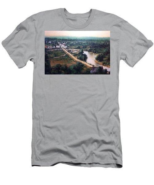 La Center Wa Circa 1915 Men's T-Shirt (Athletic Fit)
