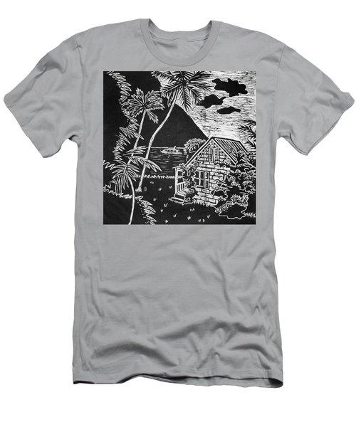 La Isla Santa Lucia Men's T-Shirt (Athletic Fit)