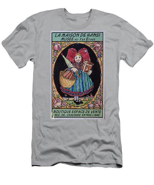 La Maison Hansi Poster Men's T-Shirt (Athletic Fit)