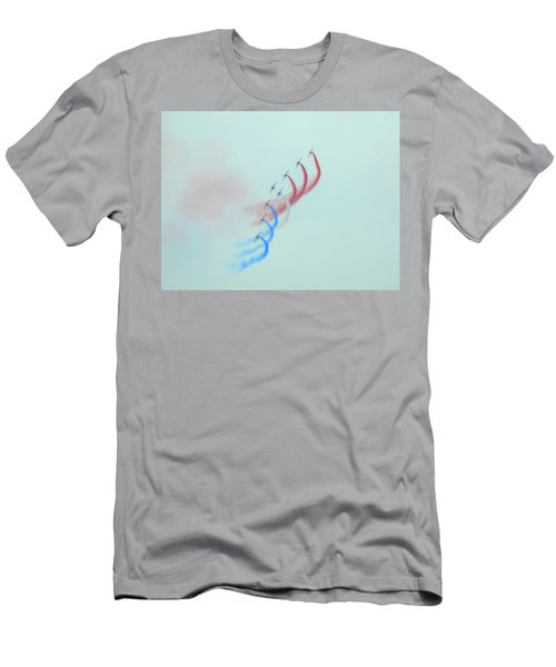 La Patrouille De France Men's T-Shirt (Slim Fit) by Betty-Anne McDonald