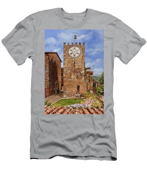 La Torre Del Carmine-montecatini Terme-tuscany Men's T-Shirt (Athletic Fit)