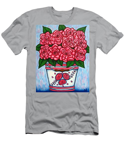 La Vie En Rose Men's T-Shirt (Athletic Fit)