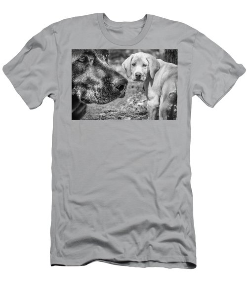 Lab Love Men's T-Shirt (Athletic Fit)