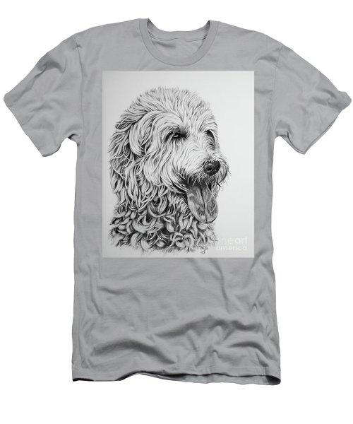 Labradoodle Men's T-Shirt (Athletic Fit)