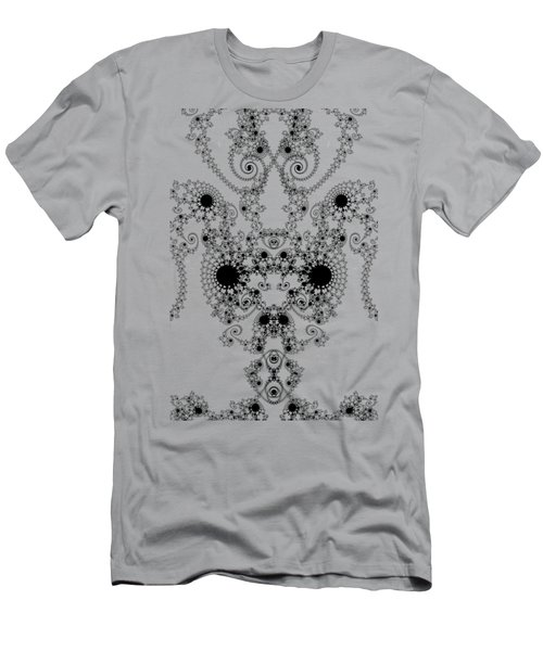 Lace Men's T-Shirt (Slim Fit) by Steve Purnell