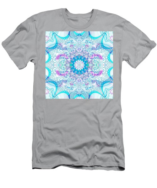 Lacy Mandala Men's T-Shirt (Athletic Fit)