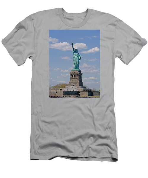 Lady Liberty Men's T-Shirt (Athletic Fit)