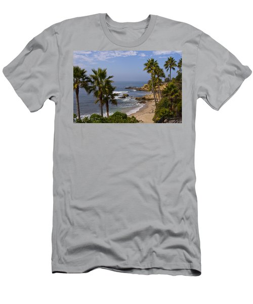 Laguna Beach Coastline Men's T-Shirt (Athletic Fit)