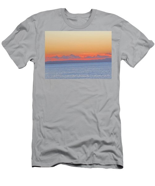 Laguna Orange Sky Men's T-Shirt (Athletic Fit)