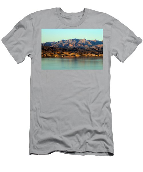 Lake Mead Before Sunset Men's T-Shirt (Athletic Fit)