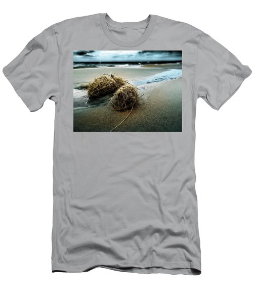 Lake Michigan Tumbleweed Men's T-Shirt (Athletic Fit)