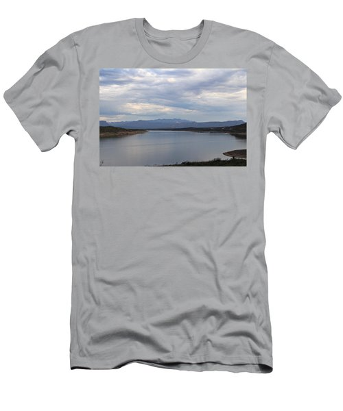 Lake Roosevelt 2 Men's T-Shirt (Athletic Fit)