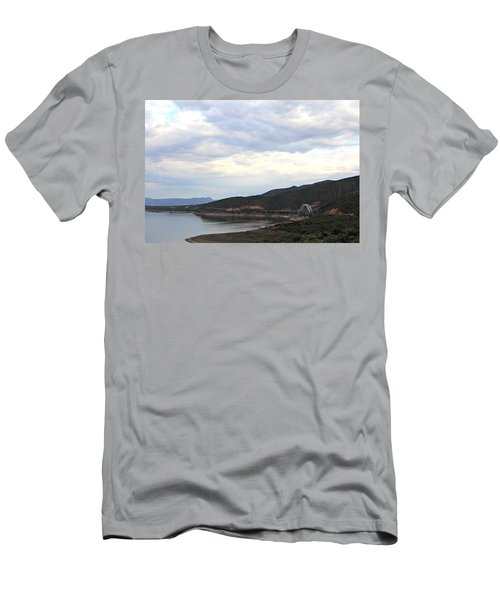 Lake Roosevelt Bridge 1 Men's T-Shirt (Athletic Fit)