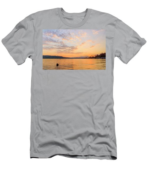 Lake Sammamish Men's T-Shirt (Athletic Fit)