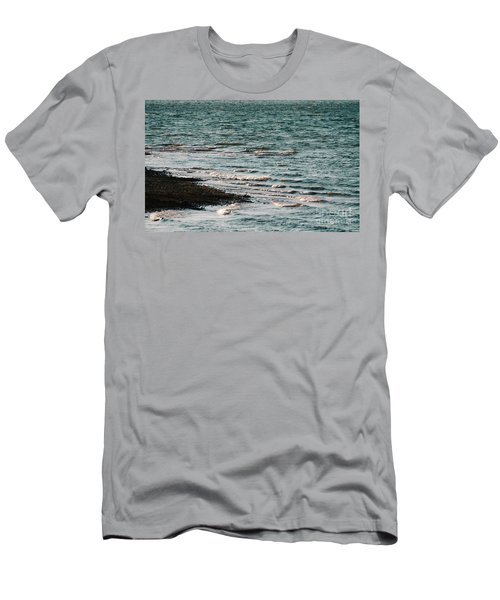 Men's T-Shirt (Athletic Fit) featuring the photograph Lake Strom Thurmond by Andrea Anderegg
