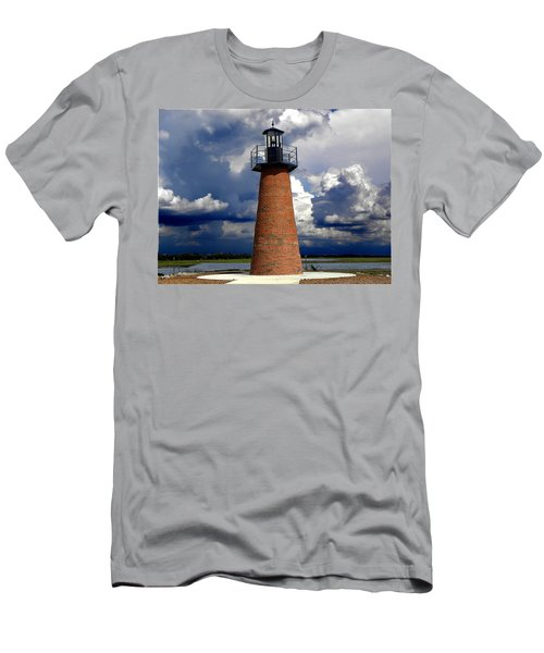 Lake Toho Lighthouse 002  Men's T-Shirt (Athletic Fit)