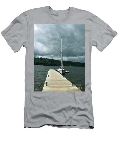 Lake Windermere Men's T-Shirt (Slim Fit) by Mini Arora