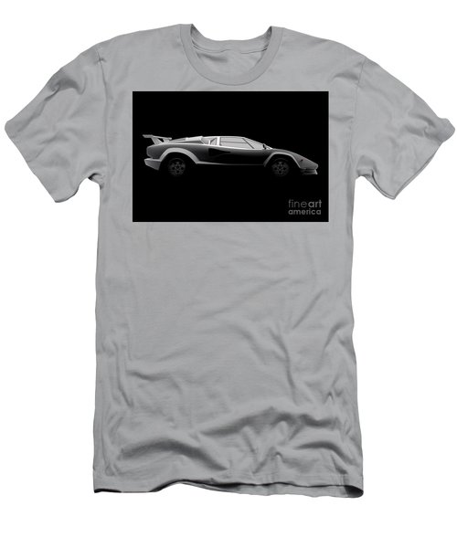 Lamborghini Countach 5000 Qv 25th Anniversary - Side View Men's T-Shirt (Athletic Fit)