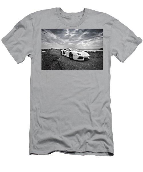 Lamborgini Aventador Men's T-Shirt (Athletic Fit)
