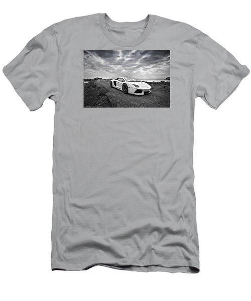 Lamborgini Aventador Men's T-Shirt (Athletic Fit)