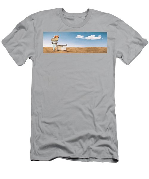 Lamp-lite Motel Men's T-Shirt (Athletic Fit)