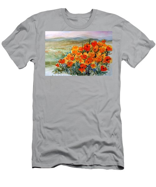 Lancaster Poppy Fields Men's T-Shirt (Athletic Fit)