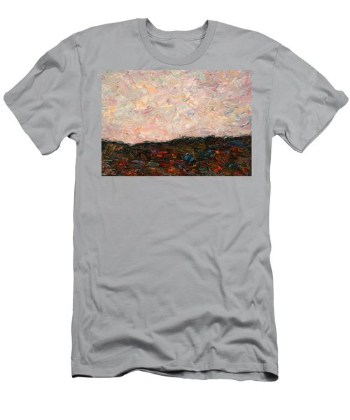 Land And Sky Men's T-Shirt (Athletic Fit)