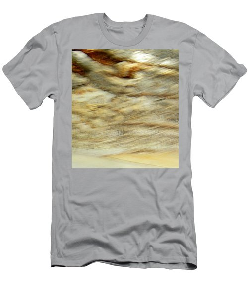 Men's T-Shirt (Slim Fit) featuring the photograph Land And Sky by Lenore Senior