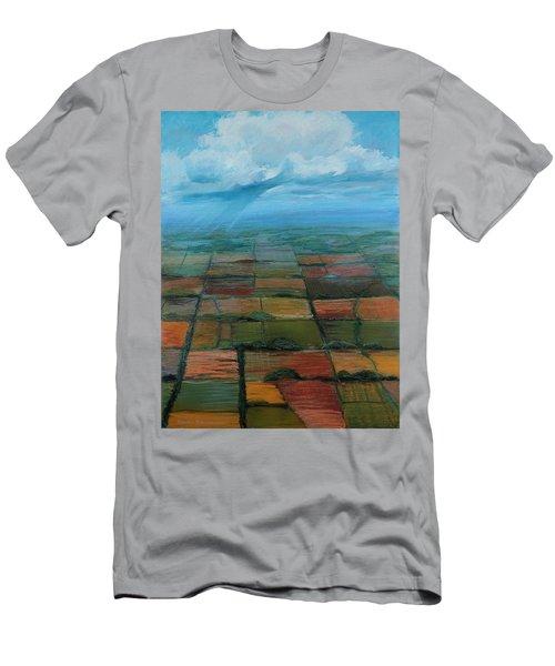 Land Art Men's T-Shirt (Athletic Fit)
