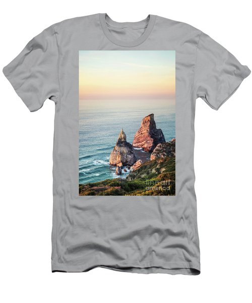 Land Of Eternal Sunset Men's T-Shirt (Athletic Fit)