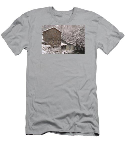 Lanterman's Mill Men's T-Shirt (Slim Fit) by Michael McGowan