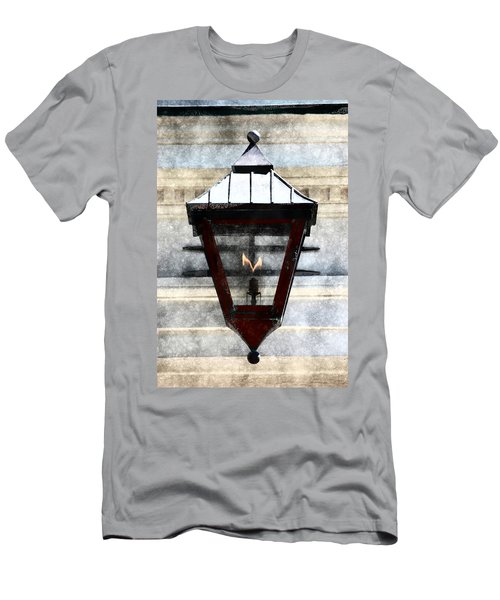 Men's T-Shirt (Athletic Fit) featuring the photograph Lantern 13 by Donna Bentley