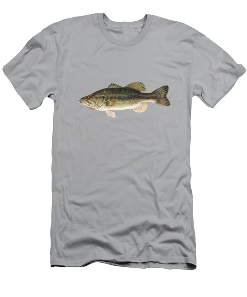 Largemouth Bass Blue Lagoon  Men's T-Shirt (Athletic Fit)