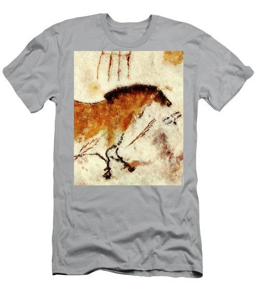 Lascaux Prehistoric Horse Detail Men's T-Shirt (Athletic Fit)