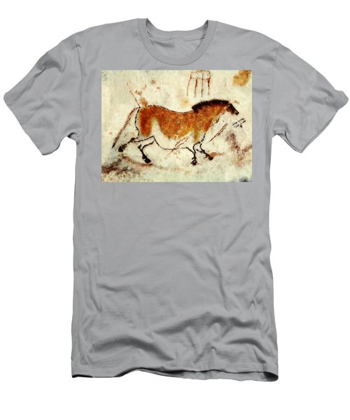 Lascaux Prehistoric Horse Men's T-Shirt (Athletic Fit)