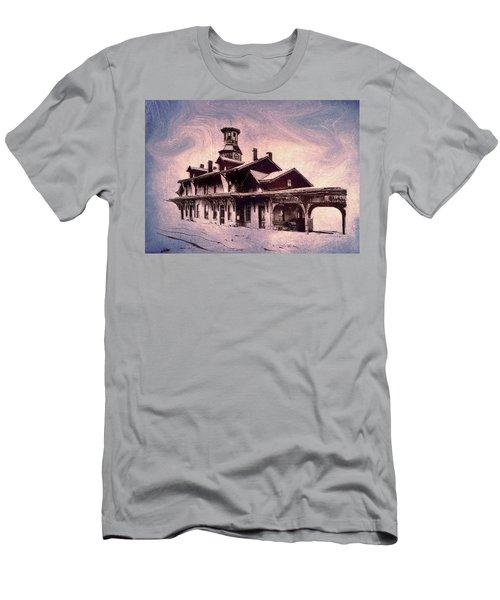 Last Stop Blues... Men's T-Shirt (Athletic Fit)