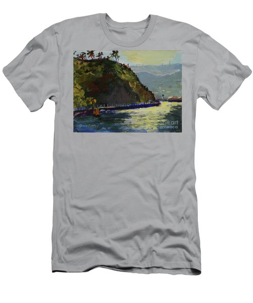 Late Afternoon At The Bay Men's T-Shirt (Athletic Fit)