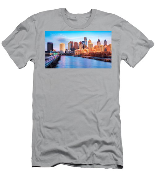 Late Afternoon In Philadelphia Men's T-Shirt (Athletic Fit)