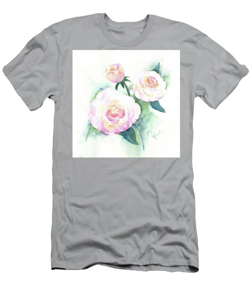 Late Summer Roses Men's T-Shirt (Athletic Fit)
