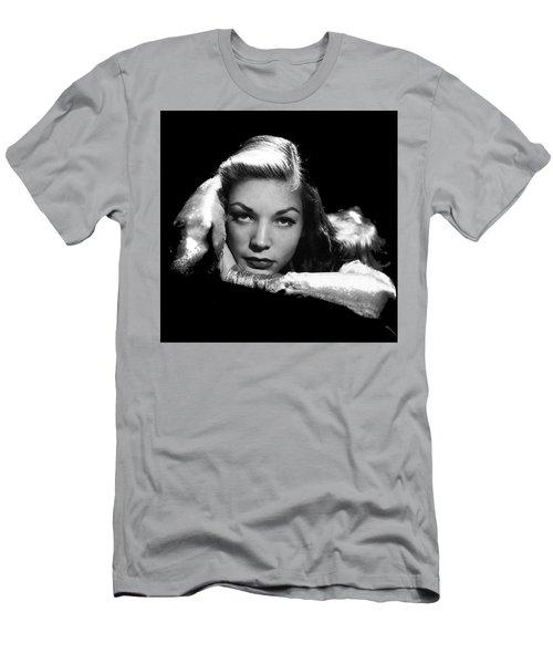 Lauren Bacall Publicity Photo Circa 1945-2015 Men's T-Shirt (Athletic Fit)