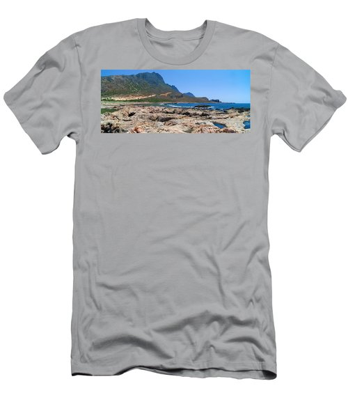 Lava Rocks Of Balos Men's T-Shirt (Athletic Fit)