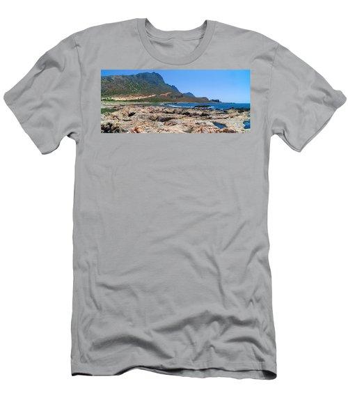 Lava Rocks Of Balos Men's T-Shirt (Athletic Fit)