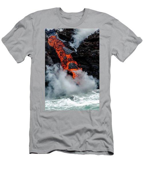 Lava Train Men's T-Shirt (Athletic Fit)