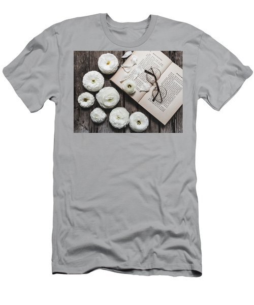 Men's T-Shirt (Athletic Fit) featuring the photograph Lavender And Old Lace by Kim Hojnacki