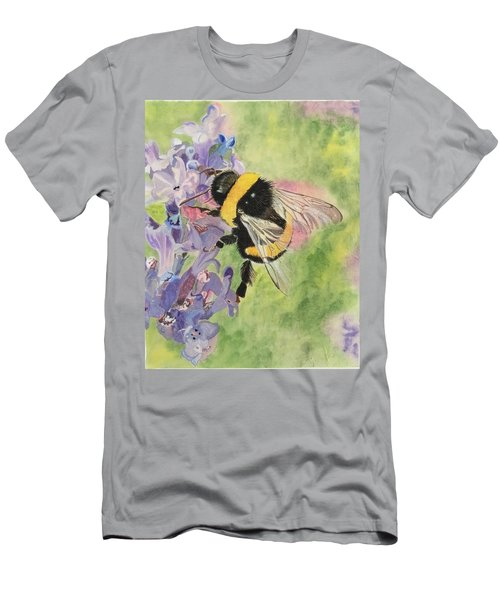 Lavender Visitor Men's T-Shirt (Athletic Fit)