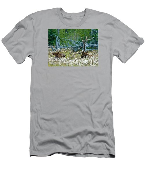 Men's T-Shirt (Athletic Fit) featuring the photograph Lazy Days by Wesley Aston