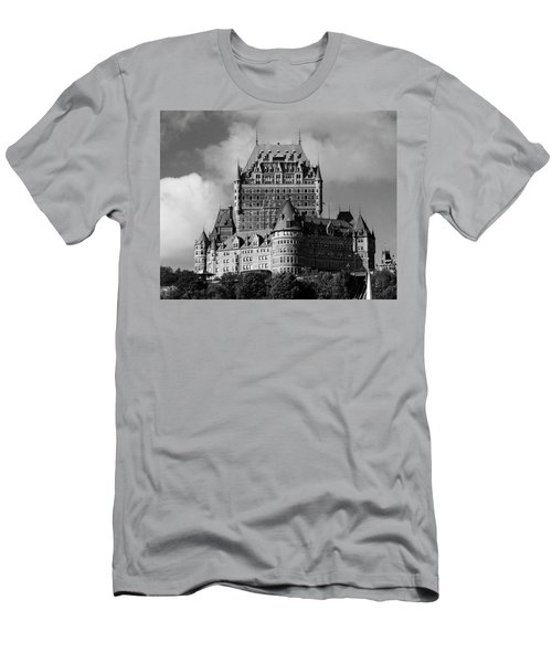 Le Chateau Frontenac - Quebec City Men's T-Shirt (Athletic Fit)