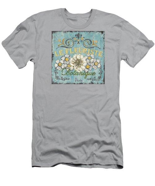 Le Fleuriste De Botanique Men's T-Shirt (Slim Fit) by Debbie DeWitt