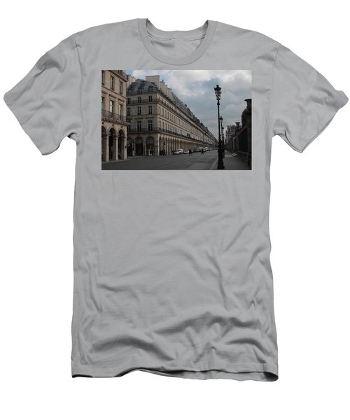 Men's T-Shirt (Slim Fit) featuring the photograph Le Meurice Hotel, Paris by Christopher Kirby