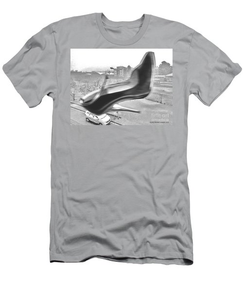 Flying Stiletto Men's T-Shirt (Slim Fit) by Don Pedro De Gracia